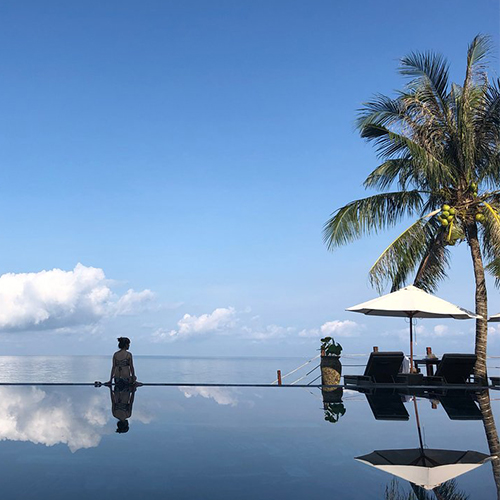 The Palmy Infinity pool