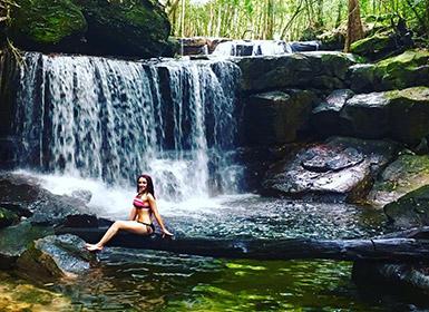 Suoi Tranh Waterfall in Phu Quoc Island