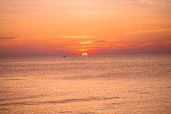 Sunset at duong to Beach - Phu Quoc