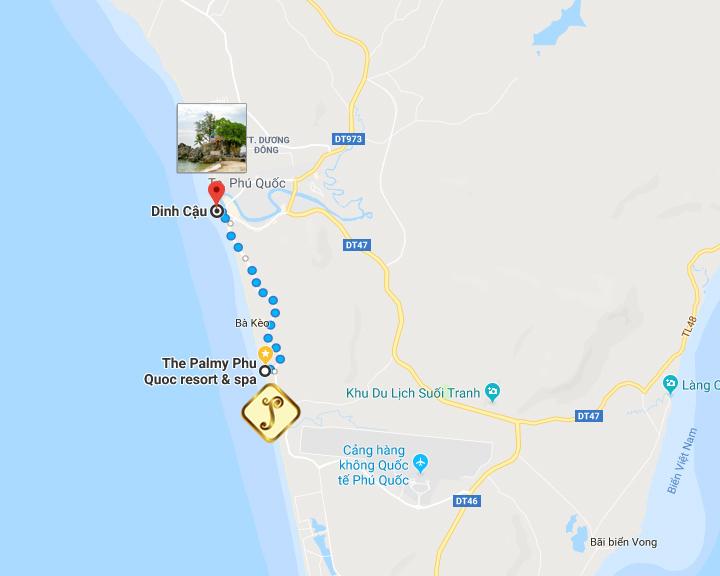 How to go Dinh Cau