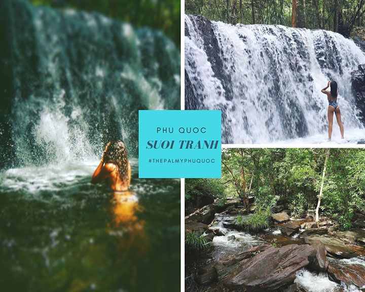 Suoi tranh Waterfall - Phu Quoc